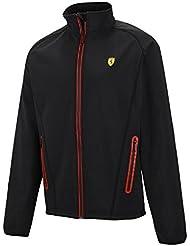 Ferrari – Chaqueta Softshell tamaño XL – Scuderia Ferrari Chaqueta – Fórmula 1 – Color negro