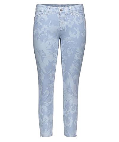Mac Damen Jeans Skinny Fit bleu (50) 36/27