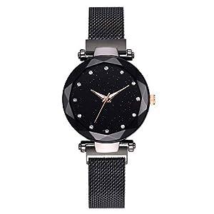 Cramberdy Uhr Damen Armbanduhr Frauen Armbanduhr Mädchen Mode Leisure Uhren Analoge Quarz Armbanduhr Damen Uhr