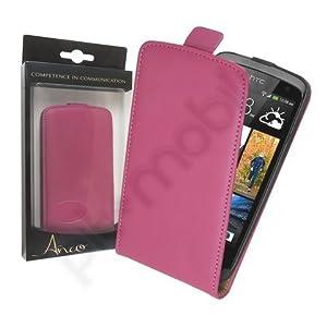 Anco Premium FlipCase pink für HTC Desire 500