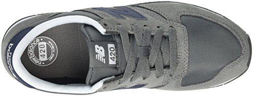 New Balance 420, Scarpe da Corsa Unisex-Adulto Multicolore (Grey/Blue)