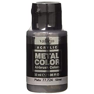 acrylicos Vallejo (32ml Metall Farbe-Silber