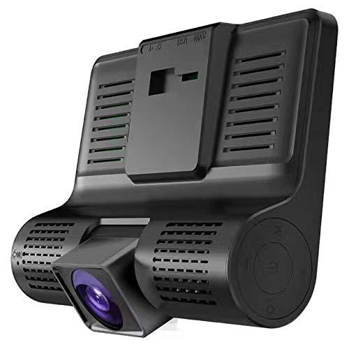 Professional 4.0 inch 1080P Dual Lens Full HD Car DVR Camera Dash Camera black - Dual Lens Hd Light