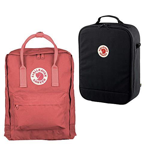 Preisvergleich Produktbild Fjällräven Kanken Rucksack mit Photo Insert Peach Pink