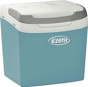 Ezetil E26 A Glacière thermoélectrique 12/230V, turquoise/blanc