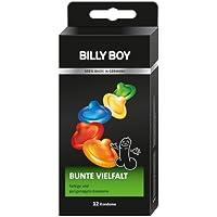 Preisvergleich für Billy Boy Bunte Vielfalt Kondome. Sortiment aus farbigen und perlgenoppten Kondomen. 12er Packung. 12 Kondome