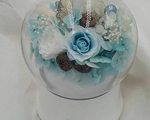 GIRLXV Geschenkdekorationen Kreative Weihnachtsgeschenke Leuchtender Luftbefeuchter für trockenes Wetter Befeuchtende ewige Blume Valentinstag-Geschenkdekorationen