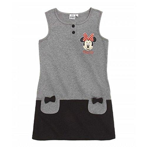 Disney Minnie Mädchen Kleid - grau - 104