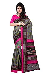 Glory Sarees Women's Silk Saree (kalapi31_grey)