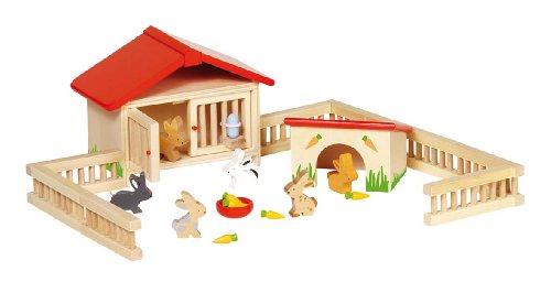 GOKI- Juegos de acción y reflejosJuegos de miniaturasGOKIEstablo de Conejos, (25)