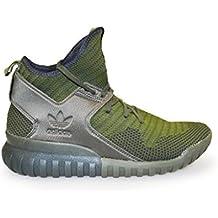 adidas Tubular X PK, Zapatillas de Gimnasia para Hombre, Negro, 37 EU