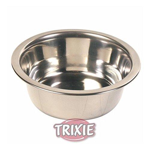 Trixie 6183 Edelstahlnapf, 0,45 l/ø 12 cm -