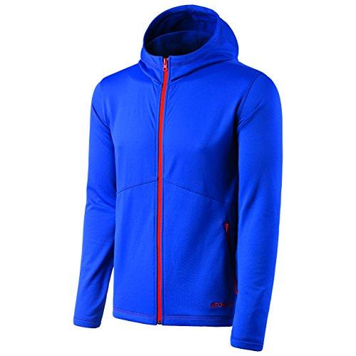 Atomic Herren Fleece-Jacke mit Kapuze, Ski und Freizeit, Alps Fleece Hoody, Polyester/Elasthan, Größe: M, Blau, AP5026930