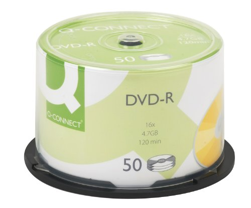 Q-Connect Kf15419 - Torre de DVD-R 50 unidades