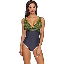 codice promozionale 9a76d 0ce6f costumi da bagno donna intero modellante - 4 ... - Amazon.it