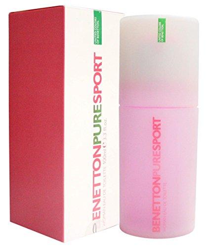Benetton Pure Sport By Benetton For Women. Eau De Toilette Spray 3.3-Ounces by Benetton -