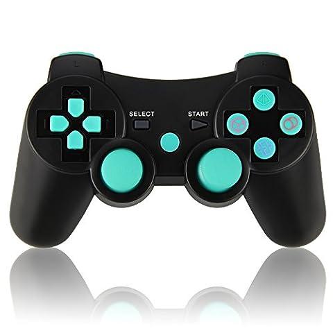 Wireless Controller Doppelte Vibration Gamepad Sixaxis Joypad für Sony PS3 Playstation 3