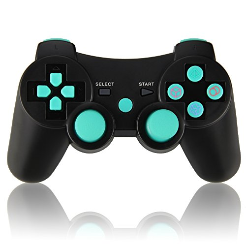 Wireless Controller Doppelte Vibration Gamepad Sixaxis Joypad für Sony PS3 Playstation 3