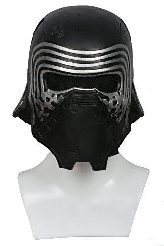 Kylo Maske Deluxe Black Series Latex Helm Herren Cosplay Kostüm Replik für Erwachsene Kleidung Zubehör Merchandise