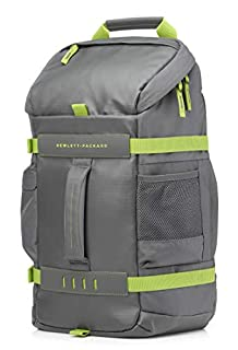"HP Odyssey - Mochila para portátiles de hasta 15.6"" de Color Verde (335 x 155 x 465 mm) (B00V87JYJC) 