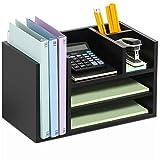 FITUEYES Madera Estante de Libros Organizador de Escritorio DT207201WB