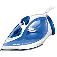Philips GC2046/20 EasySpeed Steam Iron with 110 g Steam Boost/ Ceramic Soleplate and Safety Auto-Off, 270 ml, 2200 Watt, Blue