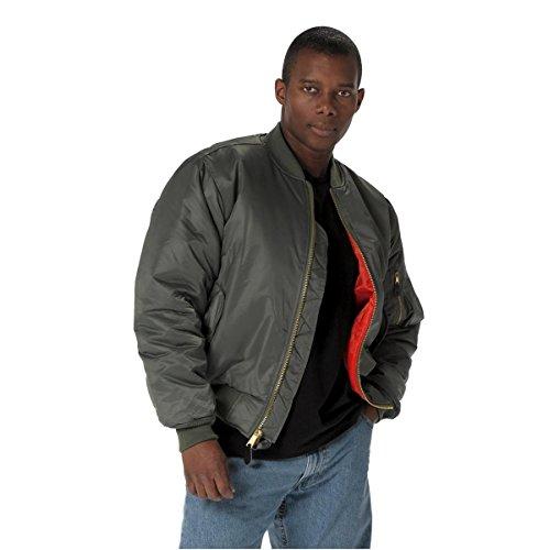 rothco ma-1 flight jacket sage -
