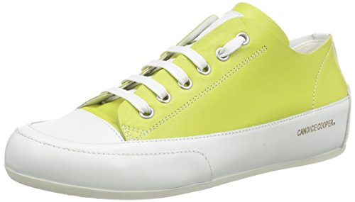 Candice Cooper Rock.double.nappa Damen Sneakers Grün (Lime)