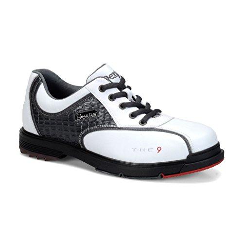 Dexter Herren T.H.E 9 Bowlingschuhe, Herren, White/Grey Croc, Size 11.5 - Dexter Bowling-schuhe Sst