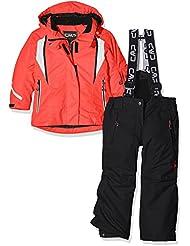 CMP - Chaqueta de esquí para niña, otoño/invierno, niña, color coral, tamaño 12 años (152 cm)