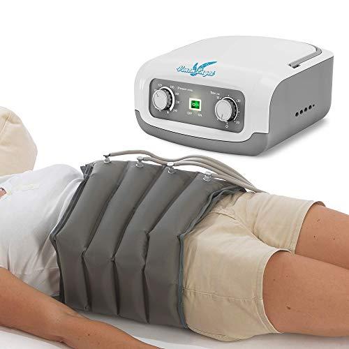Vein Angel 4 Apparecchio per massaggi a onde con fascia addominale, 4 camere d\'aria, pressione & durata facilmente regolabili, no pressoterapia