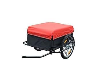 homcom transportanh nger lastenanh nger fahrrad anh nge lasten fahrradanh nger cargotrailer. Black Bedroom Furniture Sets. Home Design Ideas