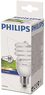 Philips Economy Twister Cdl E27 1Pf/6 Normal Duylu Enerji Tasarruflu Ampul, 20W