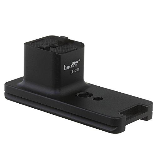 Haoge Lf-c14objectif Collier Bague de Pied support trépied support de base pour Canon EF 100–400mm f/4.5–5.6L IS II USM Objectif Intégré Arca type Plateau rapide