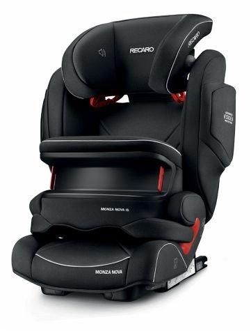 Preisvergleich Produktbild Recaro 4031953062209 Kinderautositz Monza Nova IS Seatfix, schwarz