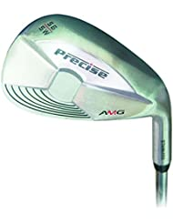 Precise AMG Wedge Satin 60 Degree - Wedge de aproximación para golf, color plateado, talla n/a