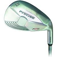 Precise AMG Wedge Satin 56 Degree - Wedge de aproximación para golf, color plateado, talla n/a