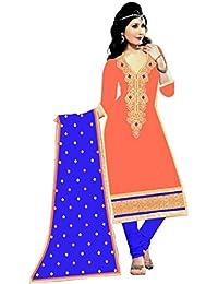 Mahi Fashion Women's Cotton Dress Material (MF36_Free Size_Multi-Coloured)
