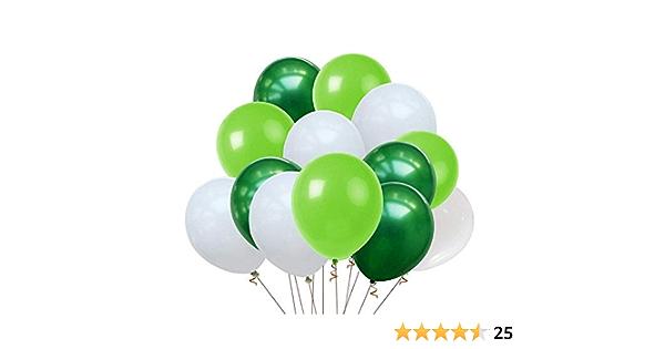 """10//100//500 Vert Forêt 11/"""" Latex Ballons Plain hélium Air fête Belbal ballon"""