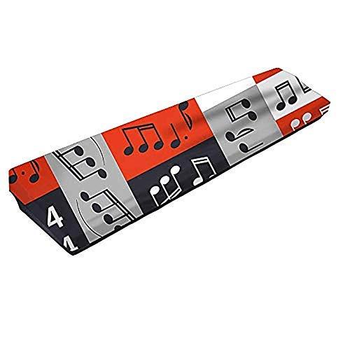 QEES Tastatur-Abdeckung für 61/88 Tasten, dehnbar, 61/88 Noten, Staubschutz, elektrische/digitales Klavier, dehnbare Schutztastatur-Abdeckung JJZ354 - Koffer Abdeckung Dehnbare
