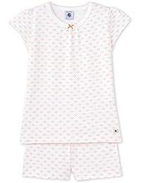 Petit Bateau Mädchen Zweiteiliger Schlafanzug Pyjacourt_22567
