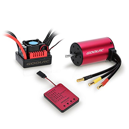 GoolRC S3660 3800KV sensorless motore brushless 80A Brushless ESC e
