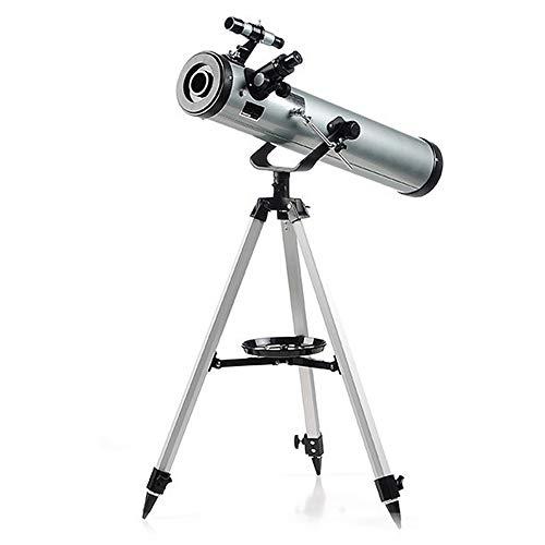 YXRPK Telescopio Astronomico 700/76Mm Profesional Niños con Trípode Barlow Etc para Niños Principiante Ocular (SR4MM, H12.5MM, H20MM)