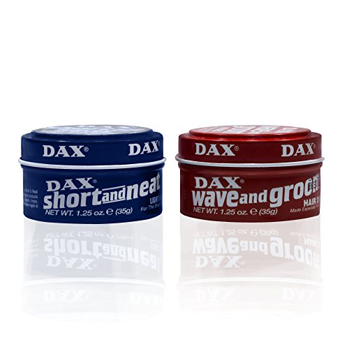 Dax Short and neat 35g & wave and groom 35g Trypack
