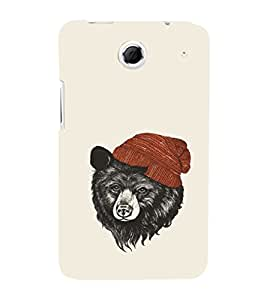 EPICCASE bear with hat Mobile Back Case Cover For Lenovo S880 (Designer Case)