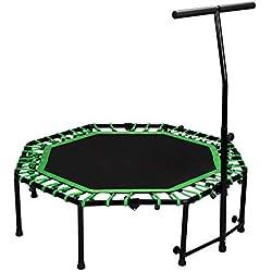 Cama Elastica trampolín para niños Fitness Infantil,Verde