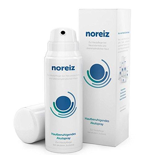 noreiz Anti Juckreiz HAUT Akut-Spray · Medizinische Creme Hautpflege · akute Hilfe bei Neurodermitis, Juckreiz, überempfindlicher Haut, Hautreizung...