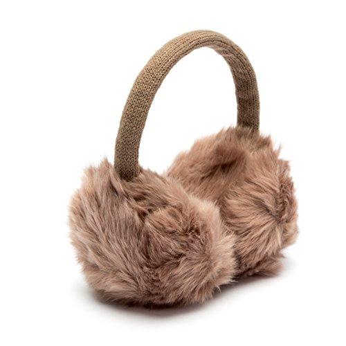 Sublevel Ohrenwärmer Ohrenschützer Earmuffs verschiedene Farben (Light Brown)