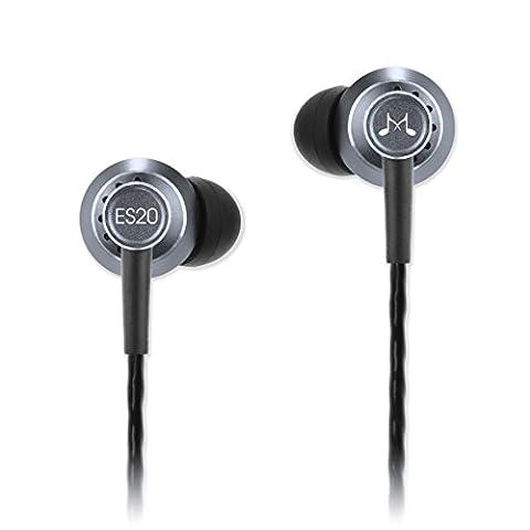 SoundMAGIC ES20-SV Écouteurs intra-auriculaires à isolation phonique argent