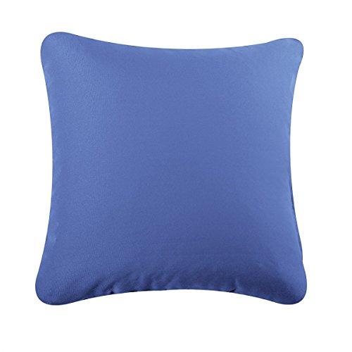 rucomfybeanbags 40Cm Kissen - Bequem - Denim Blue (Blue Denim Kissen)